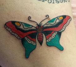 Sailor Jerry Butterfly