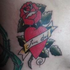 Sailor Jerry Rose & Heart