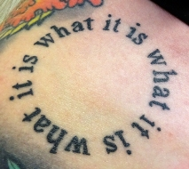 It is what it is what it is (healed)