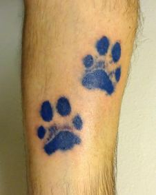 Inky paws